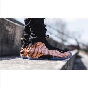 Copper Nike Little Posite One (GS)